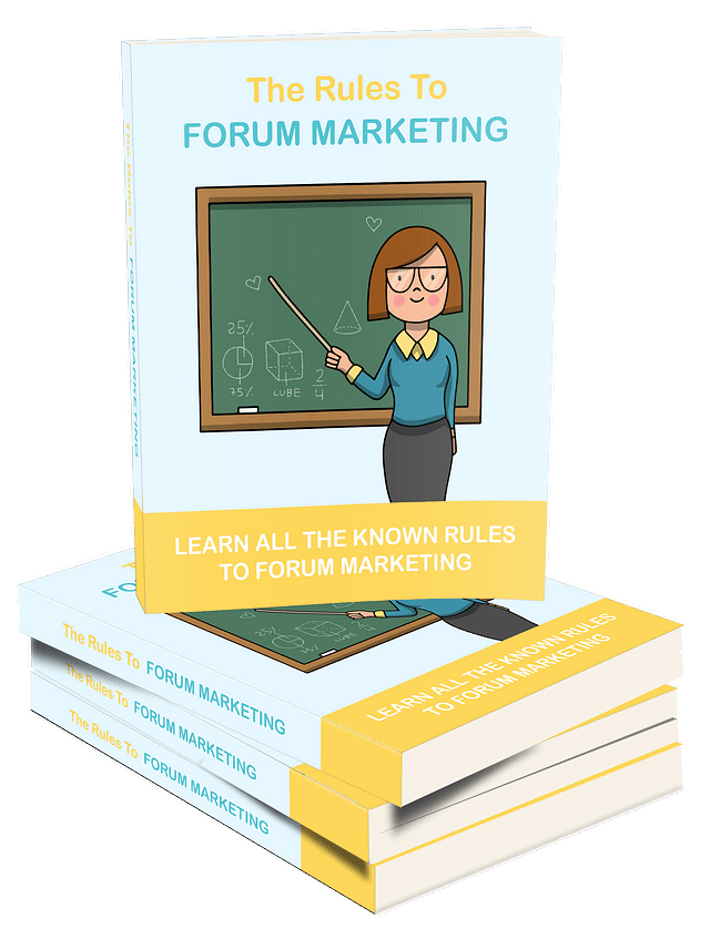 The Rules of Forum Marketing