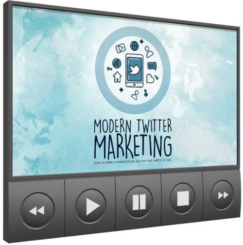 Modern Twitter Marketing online course
