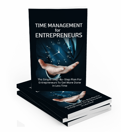 time management for entrepreneurs pdf